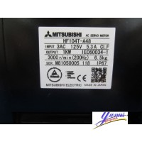 Mitsubishi HF-104T-A48 Servo Motor 1Kw 3000Rpm