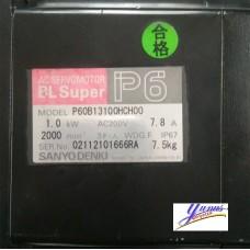 Sanyo Denki P60B13100HCH00 Servo Motor
